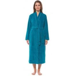 Morgenstern chalatas kimono kirpimo turkio spalvos