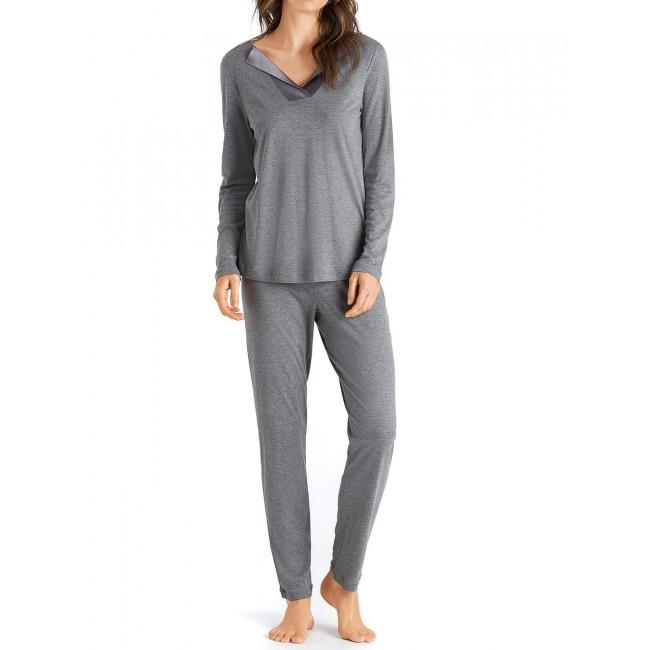 Hanro moteriška pižama pilka