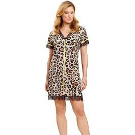 Feraud naktiniai marškiniai su leopardiniu raštu