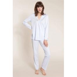 Feraud pižama žydra ilgomis rankovėmis