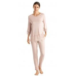 Hanro moteriška pižama pusilgėmis rankovėmis
