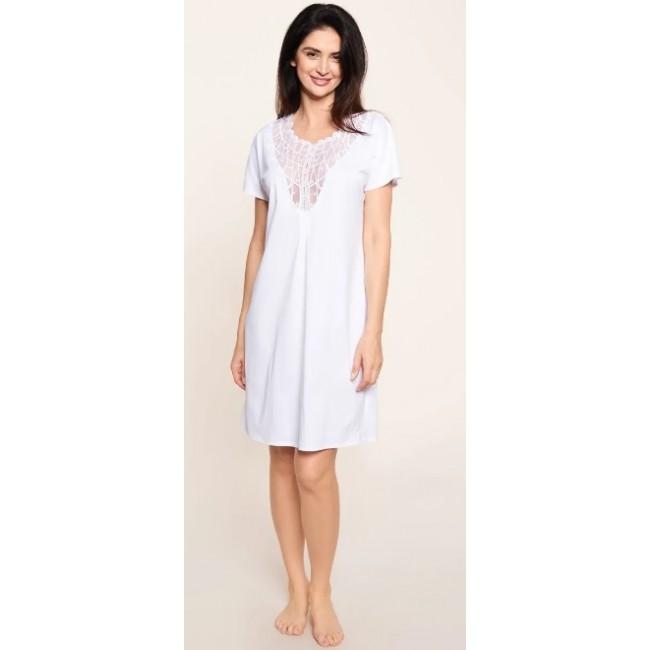Feraud naktiniai marškiniai baltos spalvos