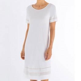 Hanro naktiniai marškiniai baltos spalvos