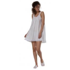 Celestine naktiniai marškiniai balti