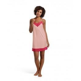 Hanro naktiniai marškiniai ant petnešėlių rožiniai/avietė