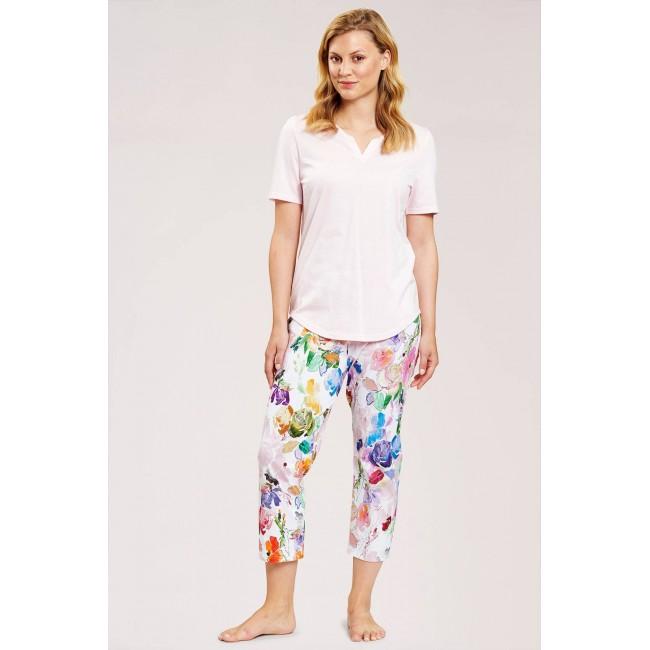 Roesch moteriška pižama spalvingomis kelnėmis