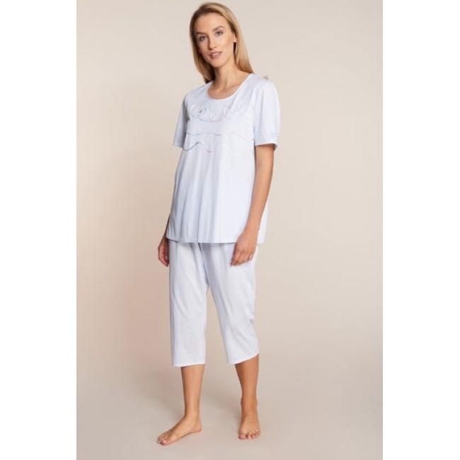 Feraud pižama 3/4 kelnėmis žydra