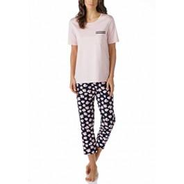 MEY moteriška pižama tamsiomis kelnėmis