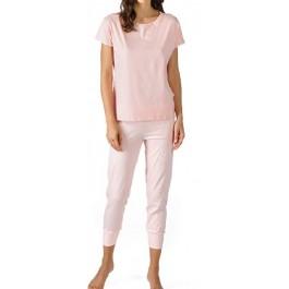 MEY moteriška pižama rožinė