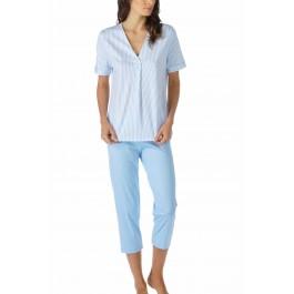 MEY moteriška pižama žydra