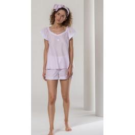 Celestine pižama - šortai rožinė