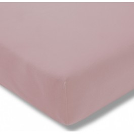 Estella trikotažinio audinio paklodė su guma rožinė