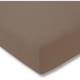 Estella trikotažinio audinio paklodė su guma rusva