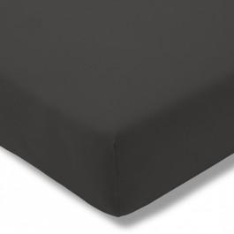 Estella trikotažinio audinio paklodė su guma tamsiai pilka