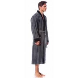 Bugatti chalatas dryžuotas kimono kirpimo