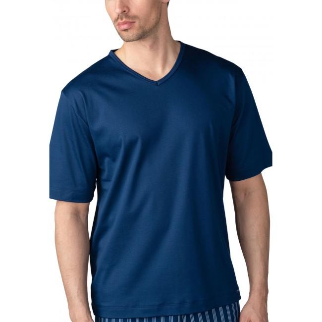MEY vyriški marškinėliai mėlynos spalvos