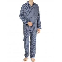 Novila vyriška pižama dryžuota mėlyna