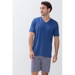 MEY vyriška pižama su dryžuotais šortais