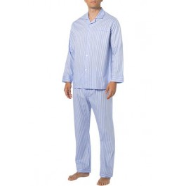 Novila vyriška pižama dryžuota žydra