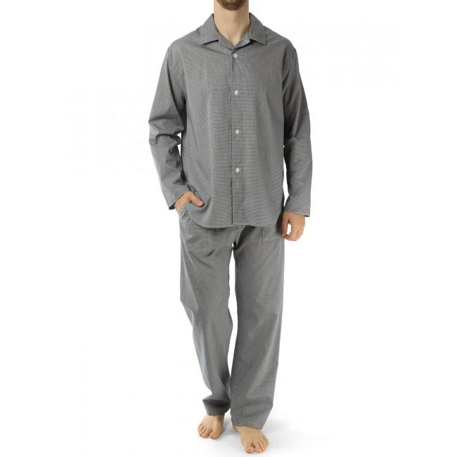 Novila vyriška pižama smulkiai languota