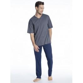 MEY vyriška pižama mėlyna/pilka