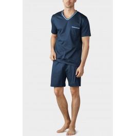 MEY vyriška pižama su šortais mėlyna