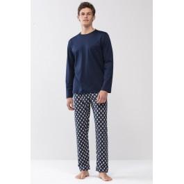 Mey vyriška pižama mėlyna/grafika