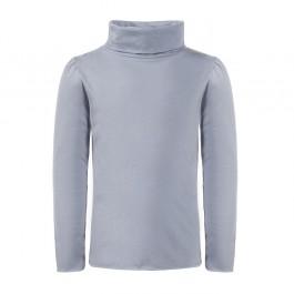 STELLA MCCARTNEY pilki marškinėliai su apykakle