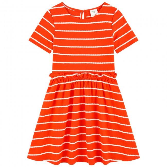 Carrement Beau ryški oranžinė suknutė