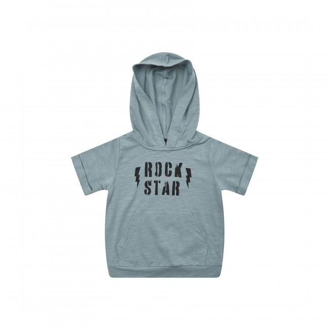 Petit by Sofie Schnoor melsvas plonas džemperiukas Rock Star