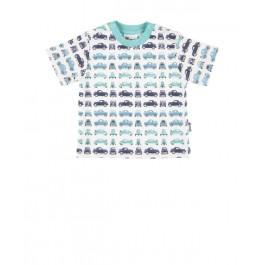 Gelati marškinėliai su mašinytėmis