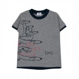 Hust and Claire pilki marškinėliai- šuniukai