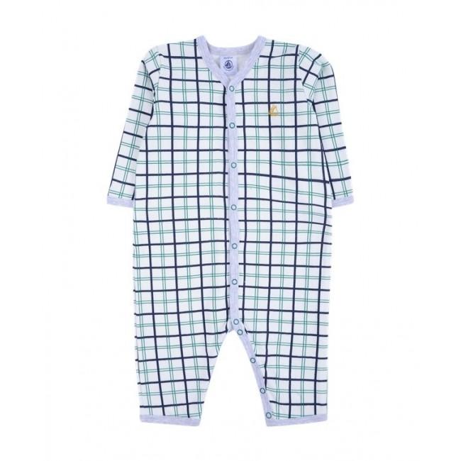 Petit Bateau pižama-romperis languota