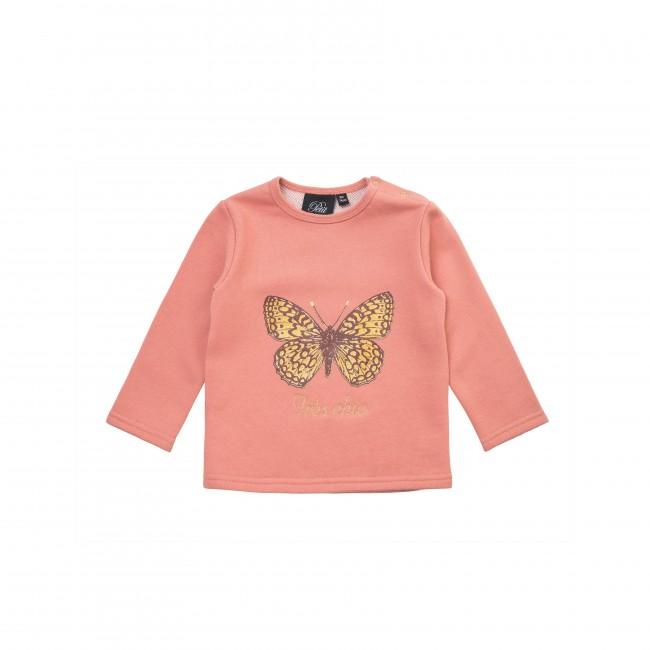 Petit by Sofie Schnoor rausvas džemperiukas mažylei