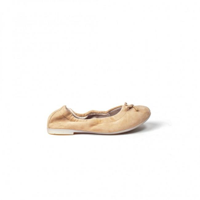 Ballalisa balerinos šviesaus smėlio spalvos