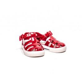 Igor tamsiai raudoni marinistiniai sandaliukai želinukai
