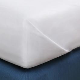 Fleuresse mako-satino vaikiška paklodė balta